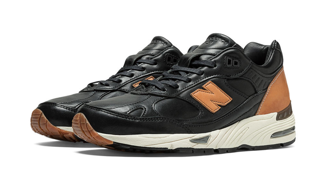 new balance leather 991
