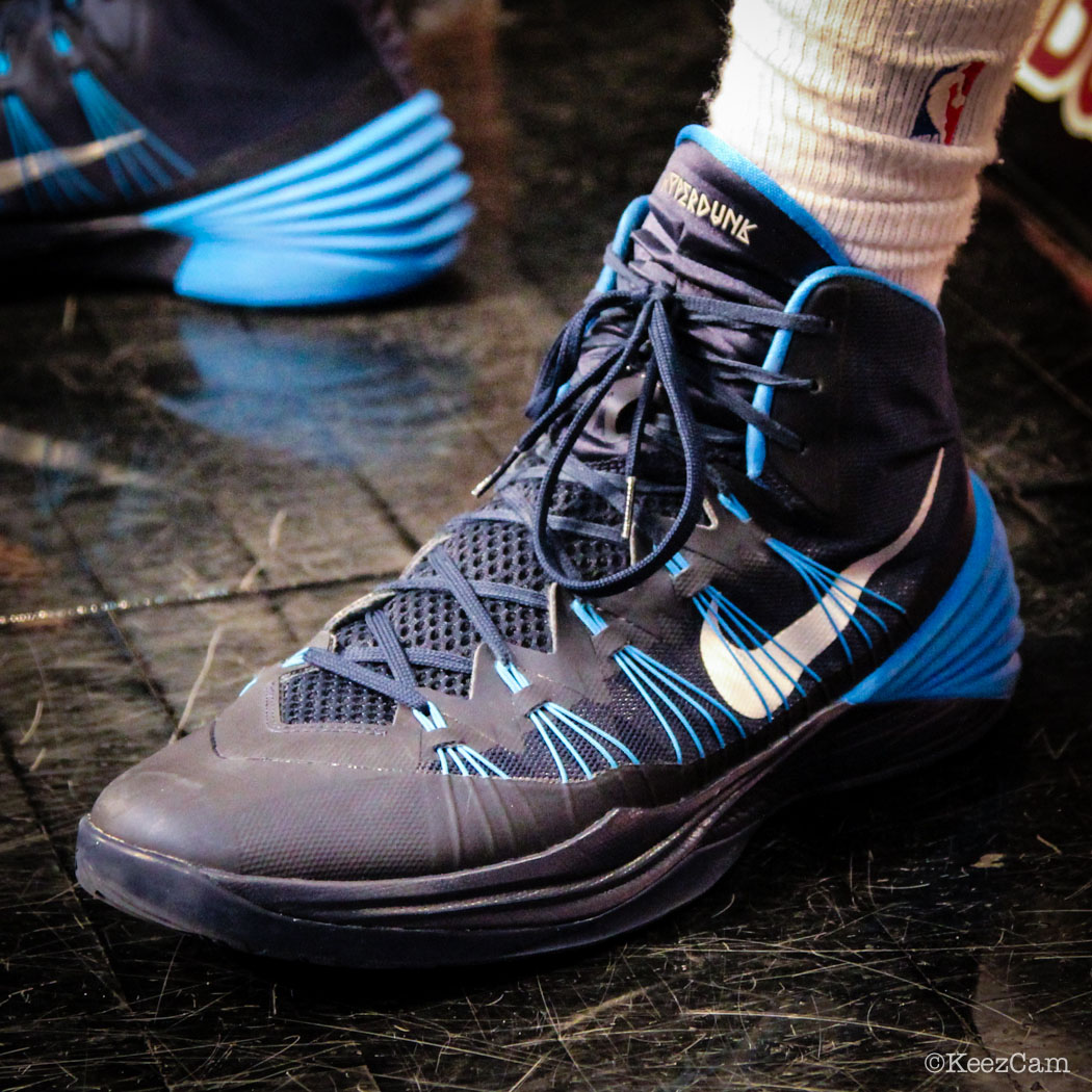 Bernard James wearing Nike Hyperdunk 2013
