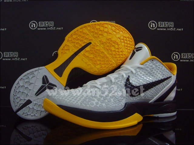 check out 0929e 8d5f5 Nike Zoom Kobe VI POP - White/Black/Maize - New Images | Sole Collector