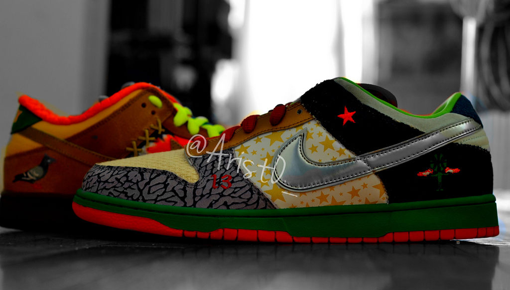 Spotlight // Pickups of the Week 4.28.13 - Nike SB Dunk Low What the Dunk by Drastic