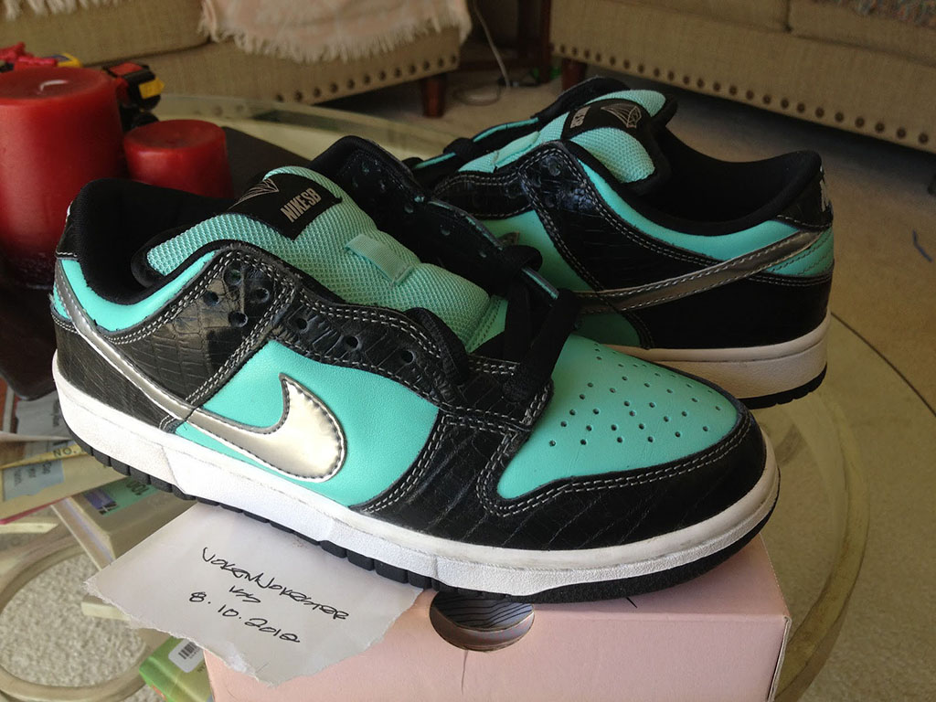Pickups of the Week // Nike SB Dunk Low Tiffany by jokemjokester