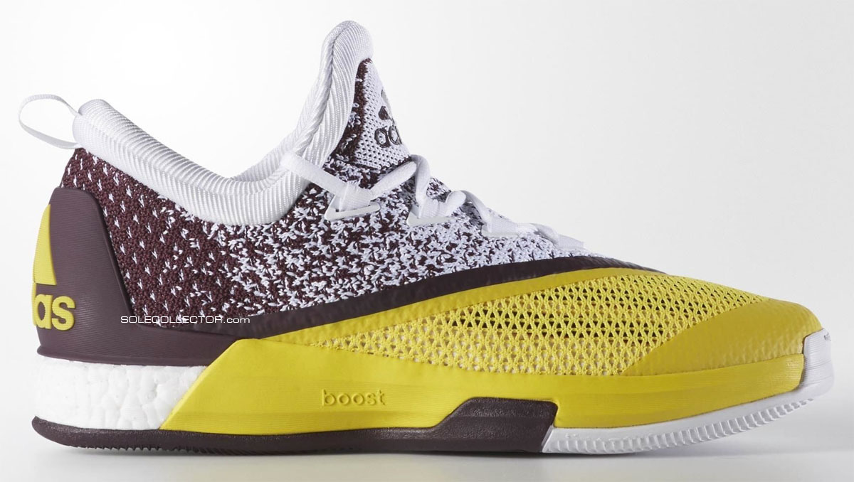 new style 86db0 2a709 adidas Crazylight Boost 2.5 Arizona State Sun evils (1)