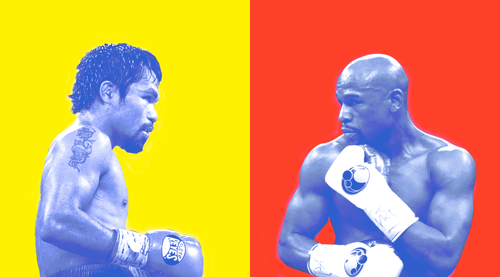 Tale of the Tape: The Floyd Mayweather vs Manny Pacquiao Sneaker Battle