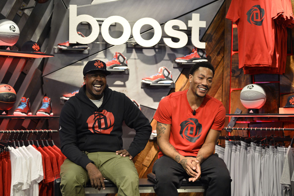 Derrick Rose and adidas Basketball Launch the D Rose 5 Boost in Chicago (9)