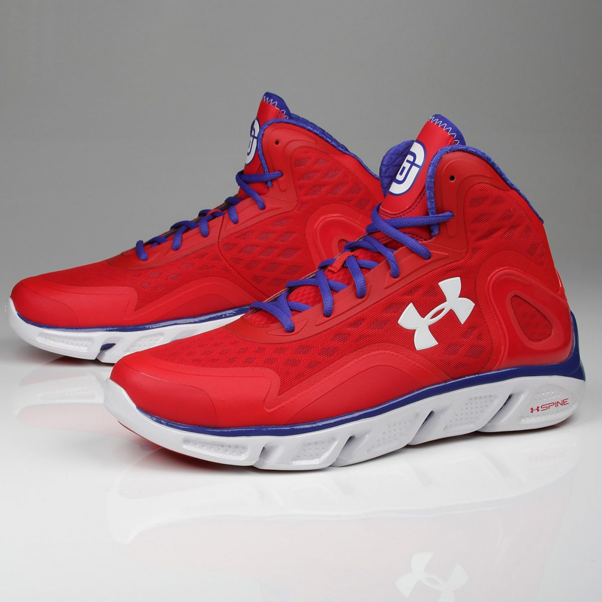 Red Under Armour Spine Shoes