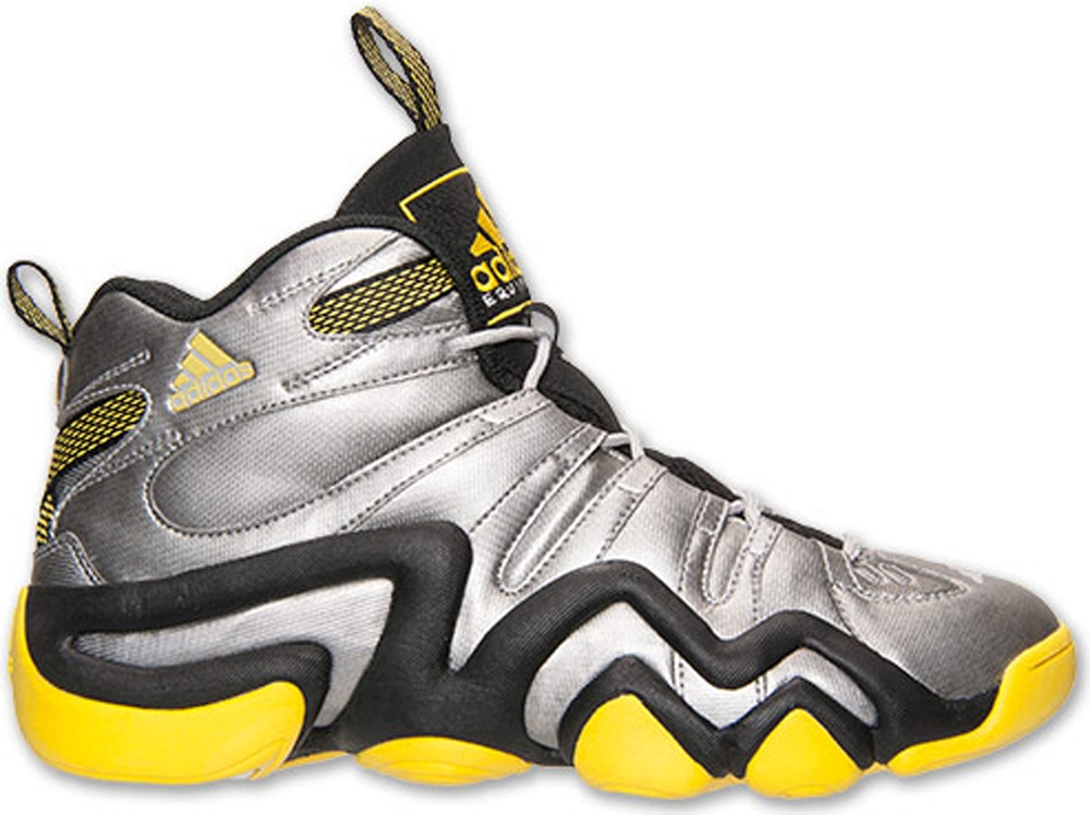 adidas Crazy 8 Metallic Silver/Black-Yellow