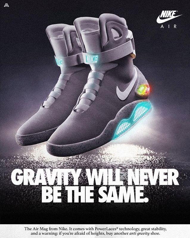 What Today's Nike Shoes Would Look Like in Vintage Ads ...