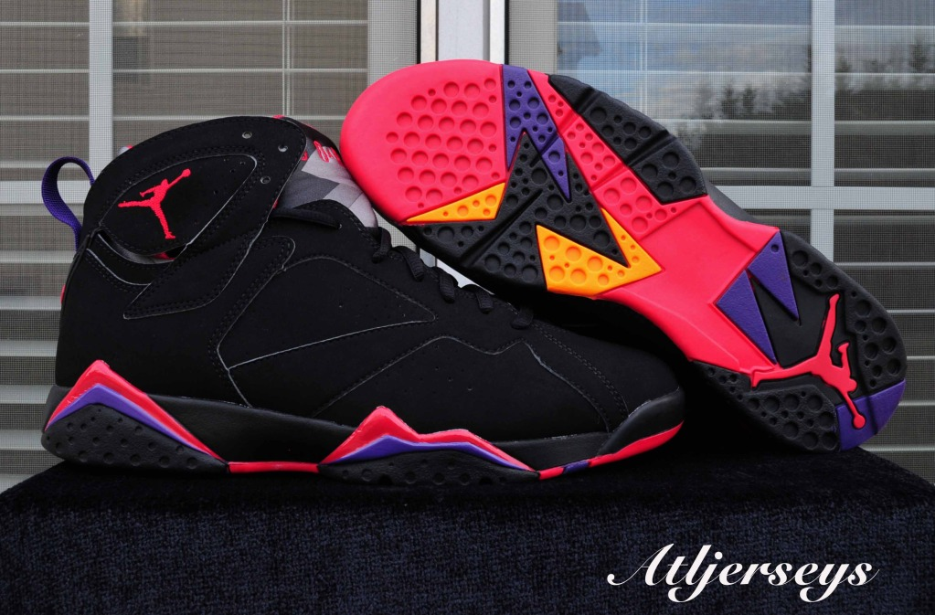 low priced 2f597 6e599 Air Jordan 7 Retro - Black/True Red-Dark Charcoal-Club ...
