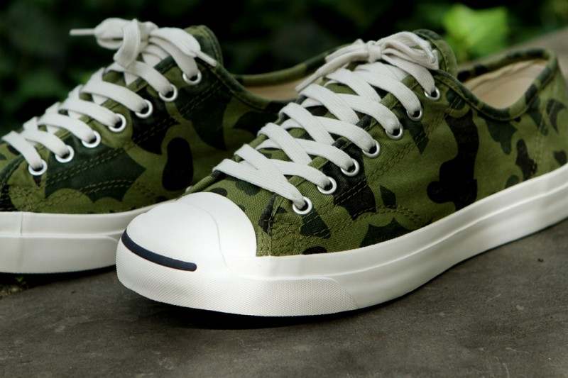 7ae9af2049dc2b The olive branch camo Converse Jack Purcell LTT is available now at select  Converse retailers