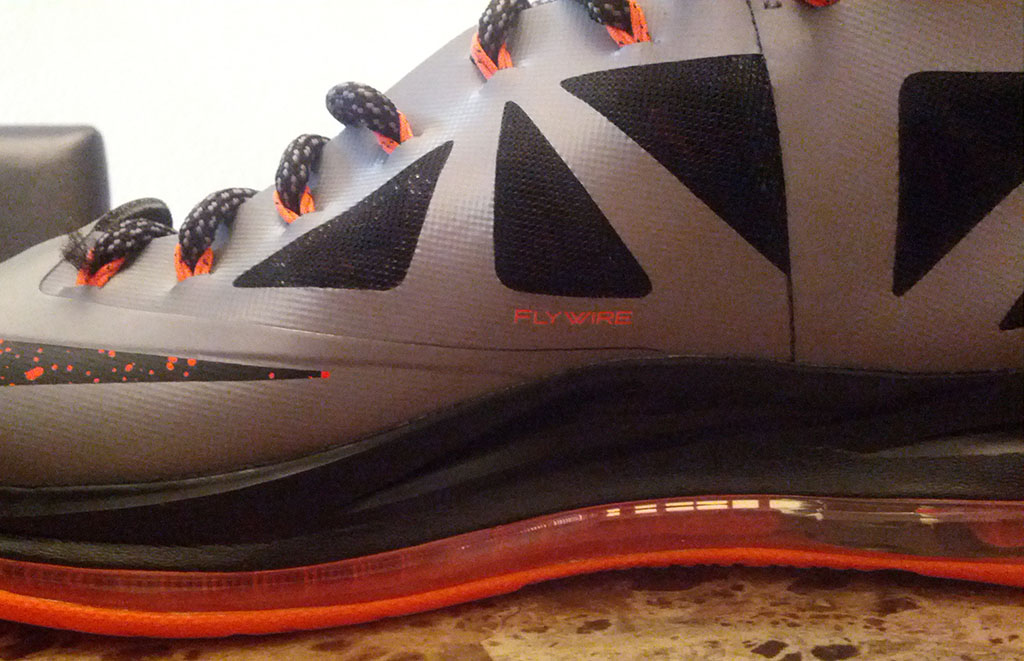 Nike LeBron X 10 Silver Black Orange Mango (10)