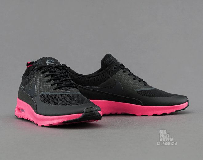Nike Air Max Thea Women Round Toe Synthetic Pink Tennis Shoe 9.5