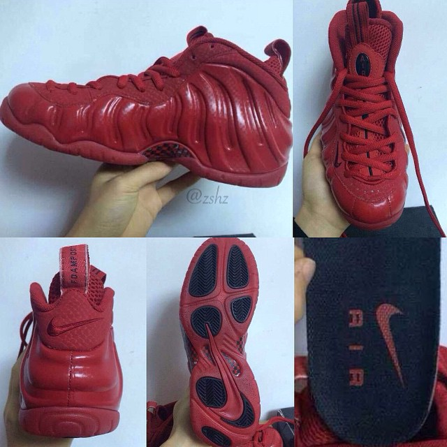 Nike Air Foamposite Pro Gym Red 624041-603 (2)