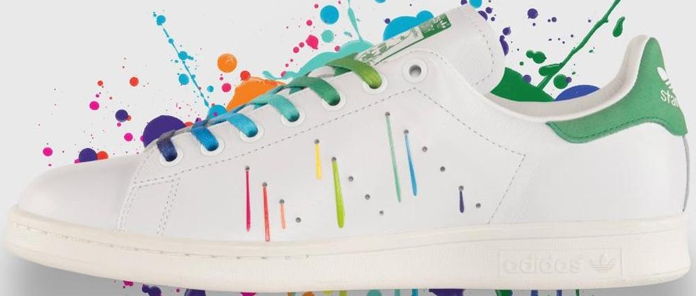 adidas Originals Stan Smith White/Multi-Color