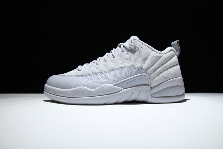 free shipping 5e923 4ebce Air Jordan 12 Low Wolf Grey Armory Blue Release Date Profile 308317-002