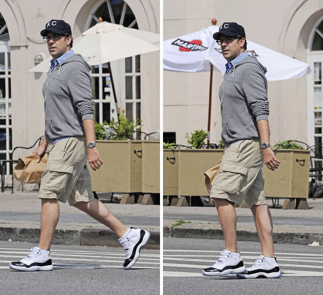 Jason Sudeikis Wears Quot Concord Quot Air Jordan 11 Sole Collector