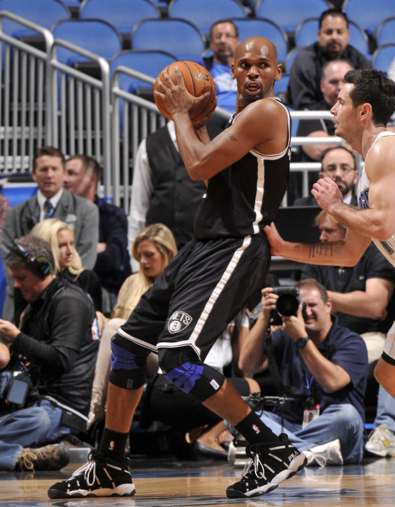 Jerry Stackhouse Wears FILA Stackhouse