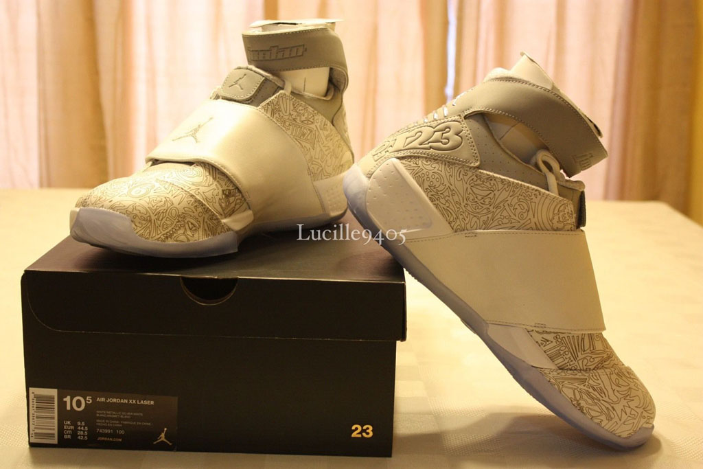 Laser Air Jordan 20s Are Going to Be More Expensive Than You Think ... 9b8d2c696d
