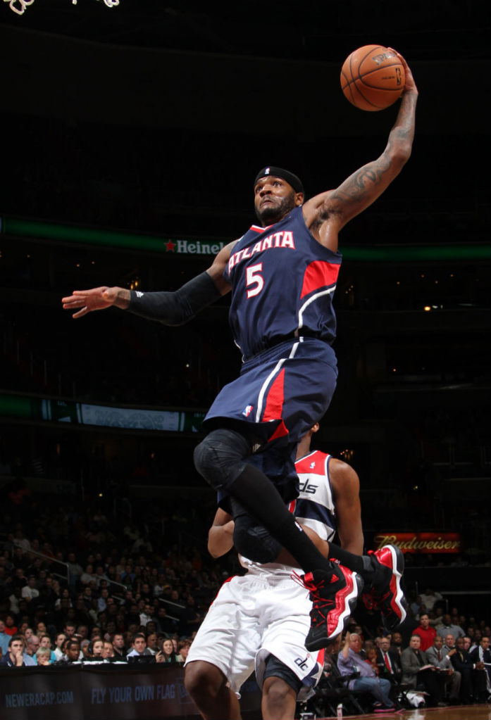 Josh Smith wearing adidas Top Ten 2000