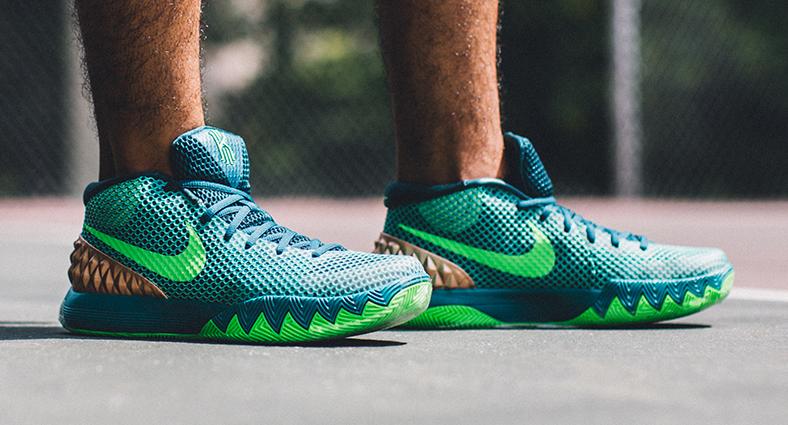 Australia' Nike Kyrie 1s Look On-Feet