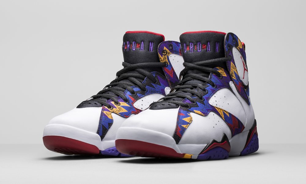 4b934c7db2f Check Out the 'Nothing But Net' Air Jordan 7 On-Foot | Sole Collector
