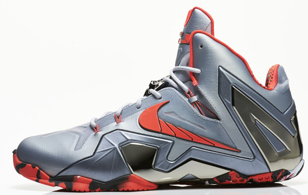 info for 0464f 48c46 Nike LeBron 11 Elite 642846-001 Wolf Grey/Light Crimson-Cool Grey-Black