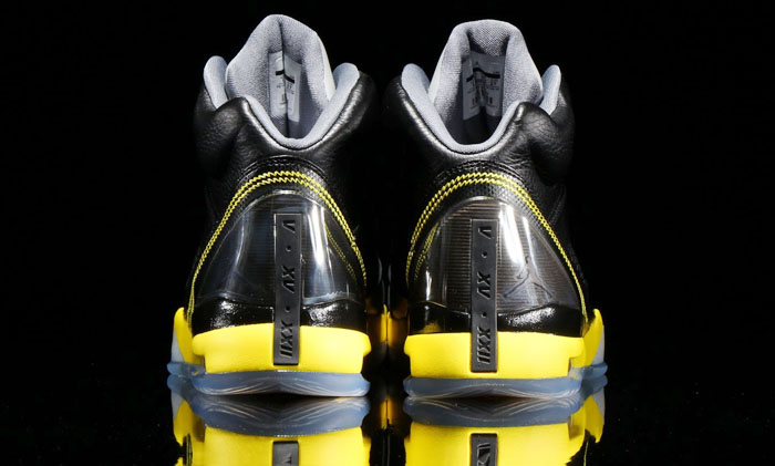 Air Jordan Flight Remix Black/Vibrant Yellow-Cool Grey Release Date 679680-070 (4)