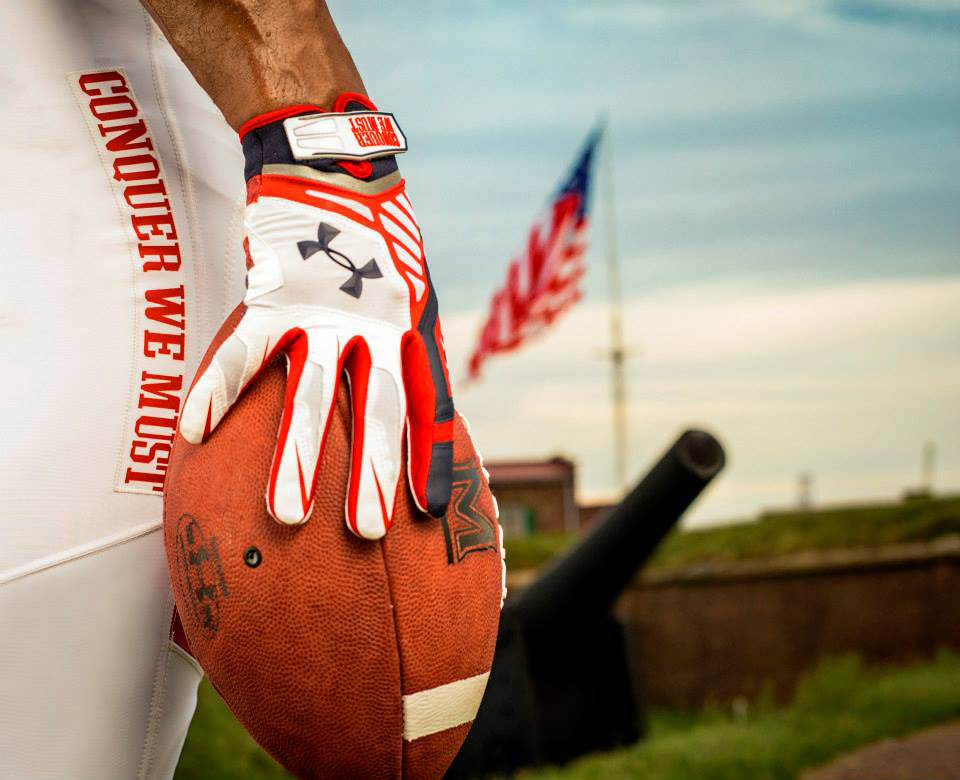 Maryland's Under Armour 'Star-Spangled Banner' Uniforms (3)