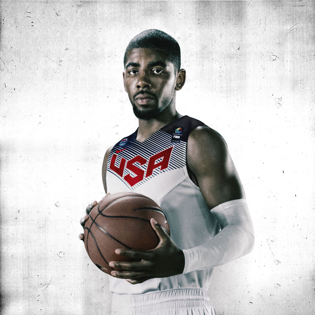 Nike Basketball Unveils 2014 USA Basketball Uniforms - Kyrie Irving (1)