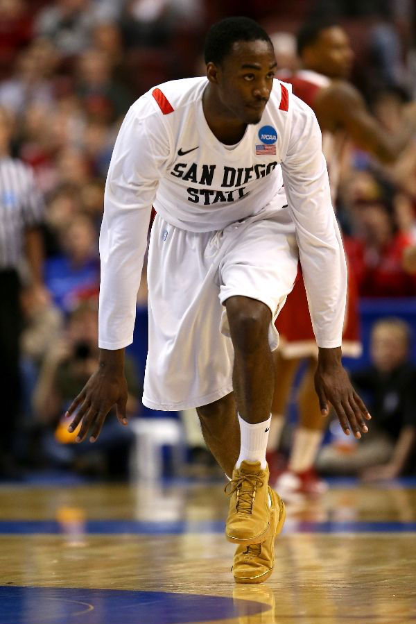 Jamaal Franklin wears Nike Air Zoom Generation Wheat (1)