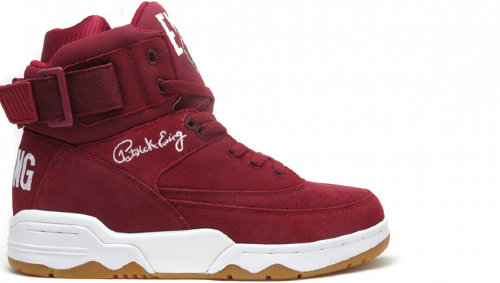 Ewing Athletics Ewing 33 Hi Biking Red/White-Gum