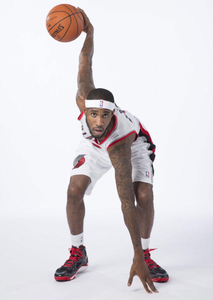 Will Barton wearing Under Armour Anatomix Spawn PE