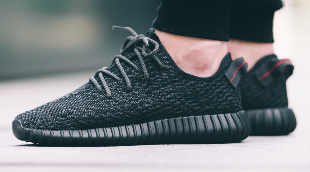 Adidas Yeezy 350 Boost Pirate Black • Kicks On Fire