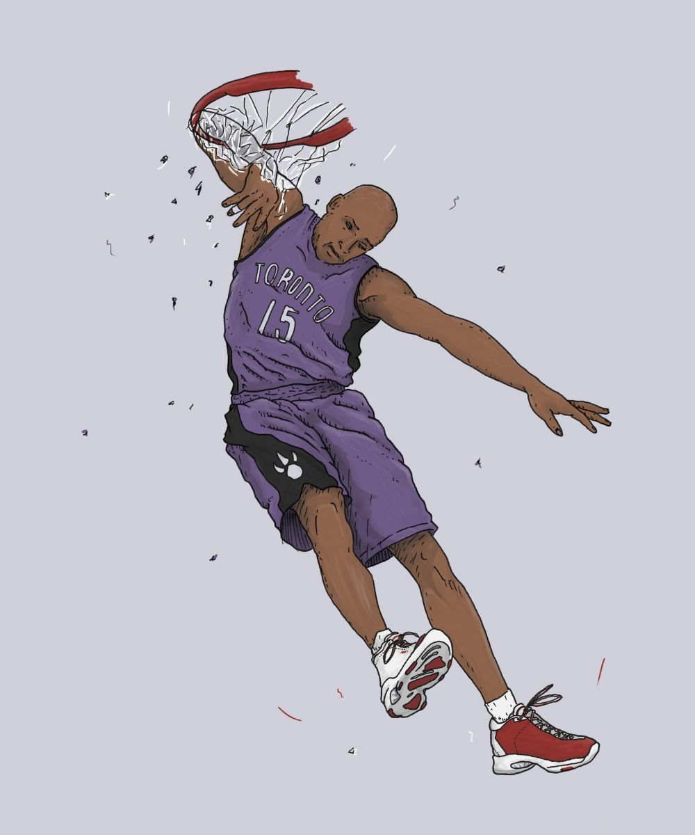 Greatest Dunk Contest Moments: Vince Carter in 2000
