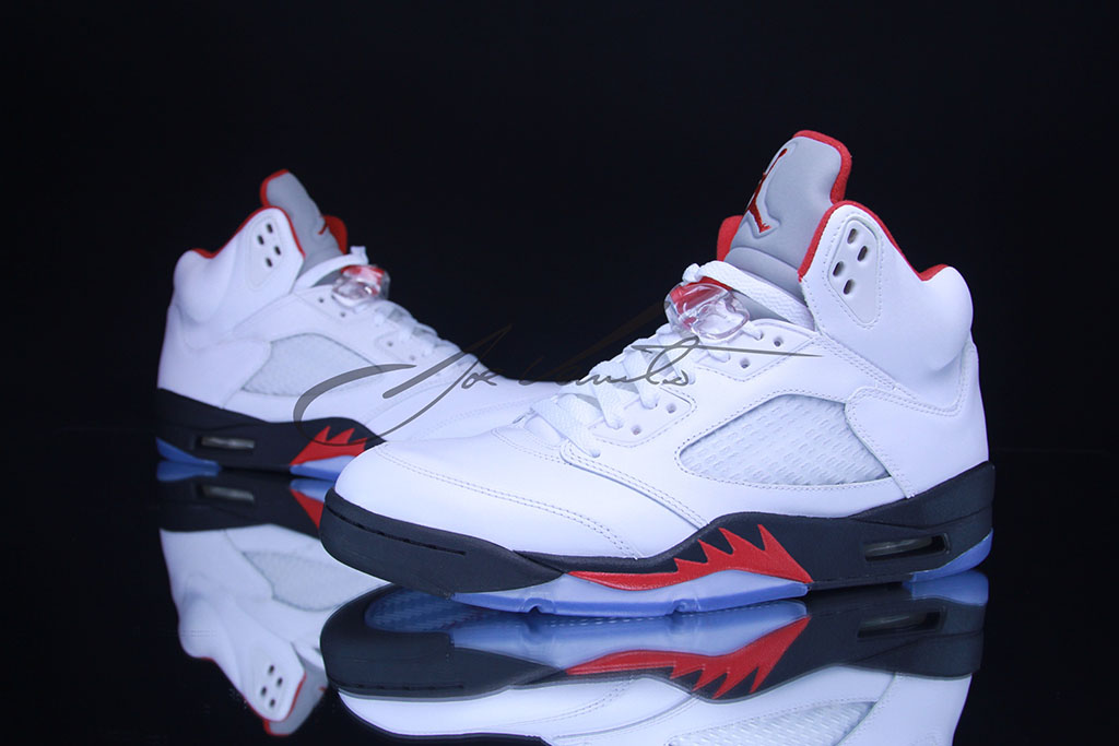 Air Jordan V 5 Fire Red 136027-100 (7)