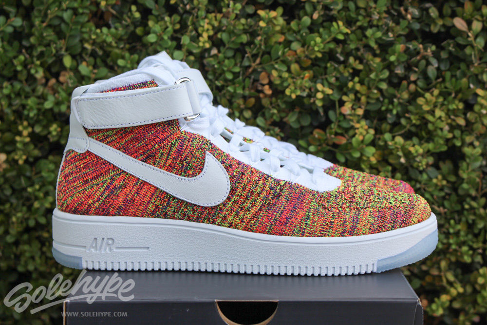 buy online f47e8 372d5 Of Course There's a Multicolor Nike Flyknit Air Force 1 | Sole Collector
