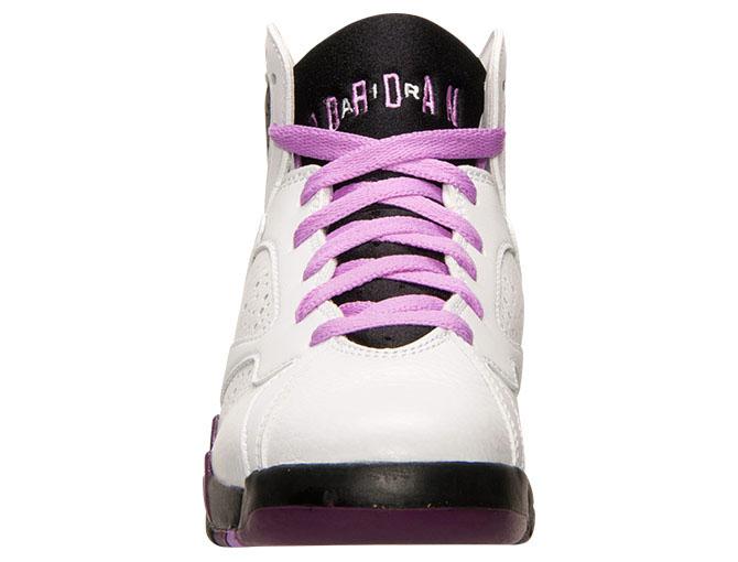 timeless design f5d97 27fc7 Air Jordan 7 Girls Fuchsia Glow 442960-127 (4)