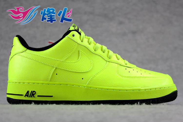 Nike Air Force 1 Low - Volt/Black