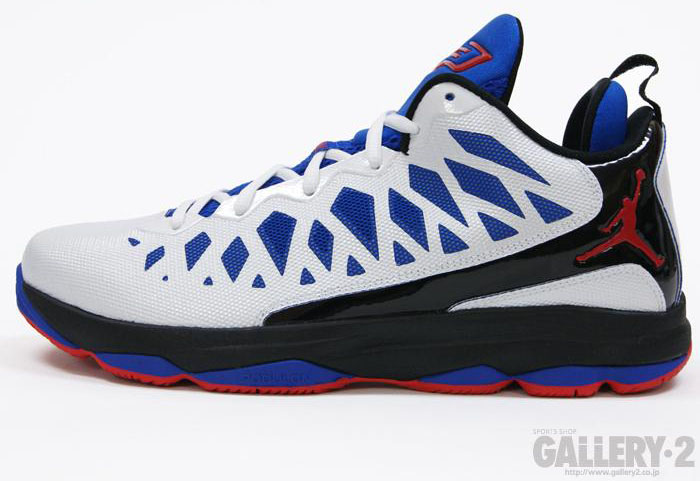 Jordan CP3.VI White Sport Red Black Game Royal 535807-103 (1)