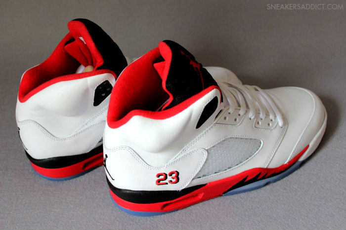 Air Jordan Retro V 5 Fire Red 136027-120 (6)