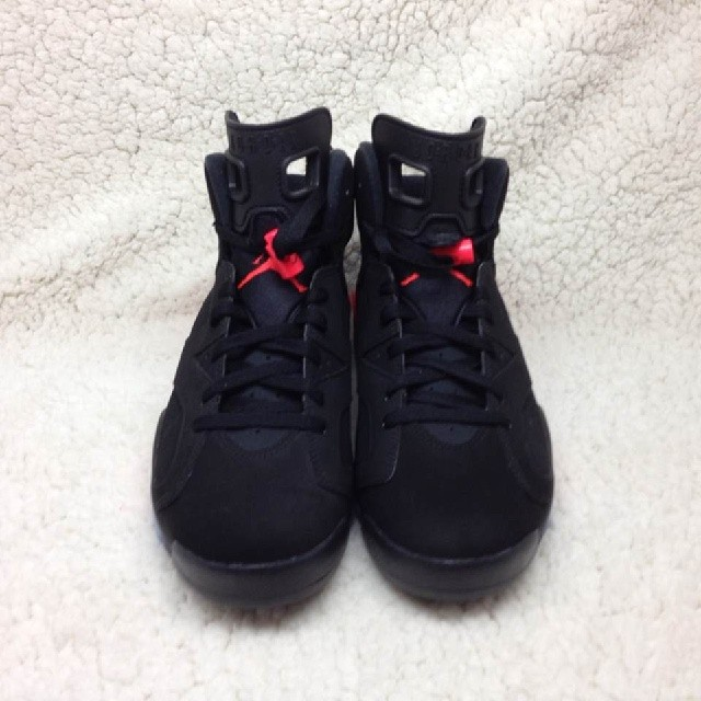 Air Jordan VI 6 Black/Infrared 384664-023 (2)