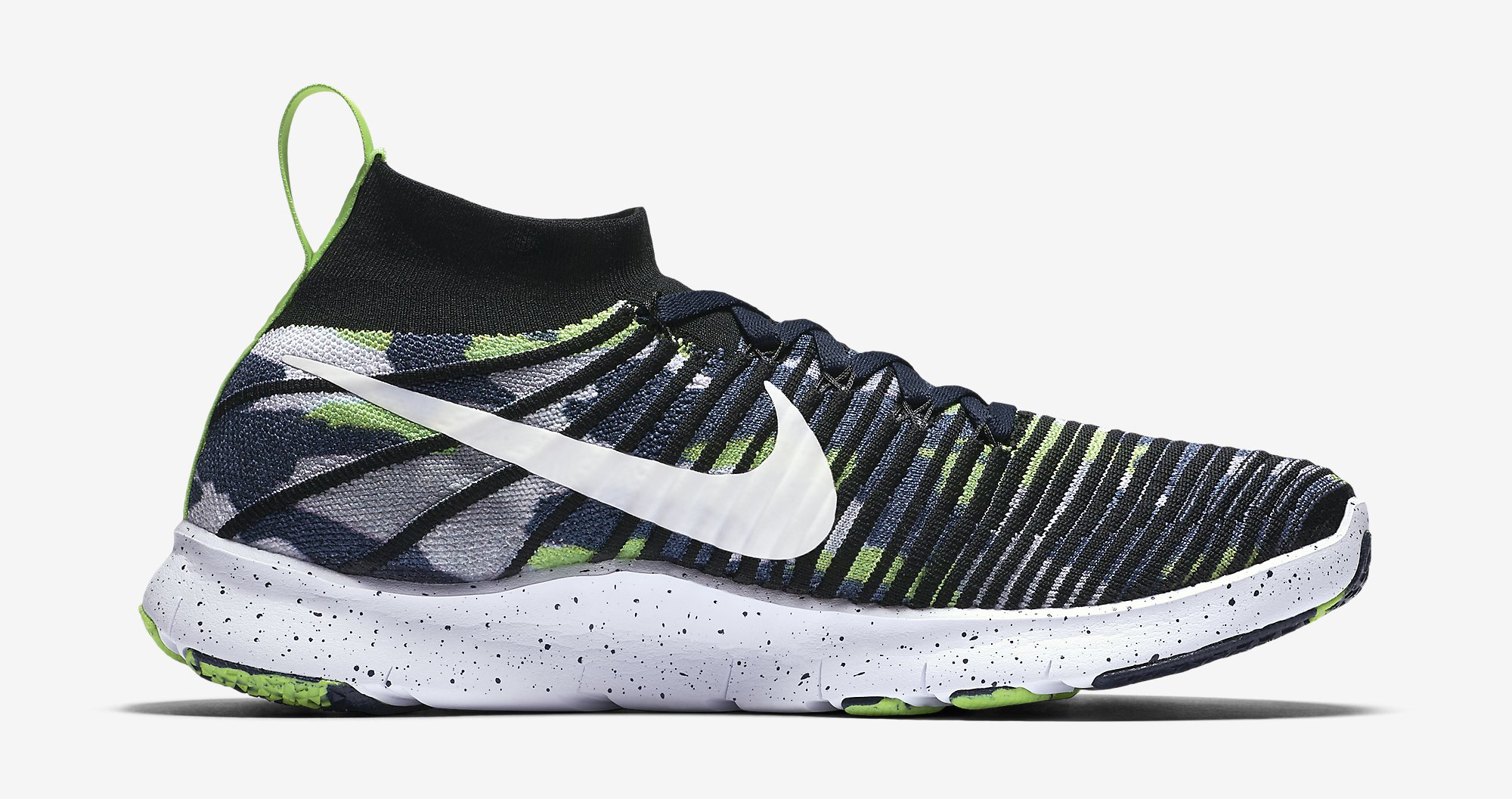 Image via Nike Russell Wilson Nike Free Train Force Flyknit 840299-400  Medial 92586c6db271