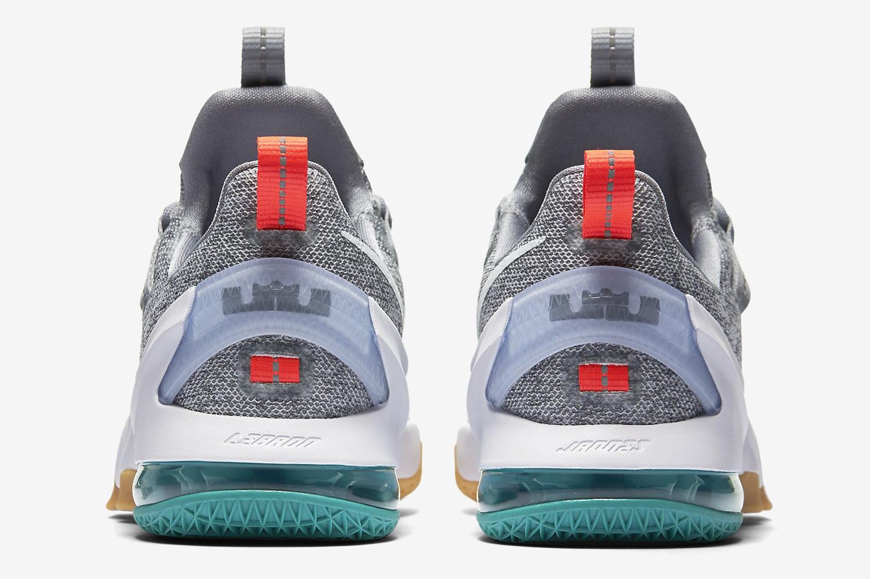 a3819e748dc4 Nike LeBron 13 Low Summer Pack Heel