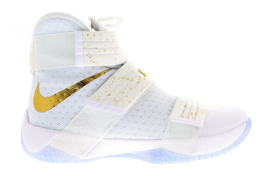 Gold Medal LeBron Soldier 10 Profile
