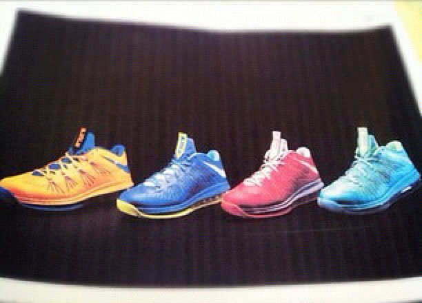 Nike LeBron X Low Preview (2)