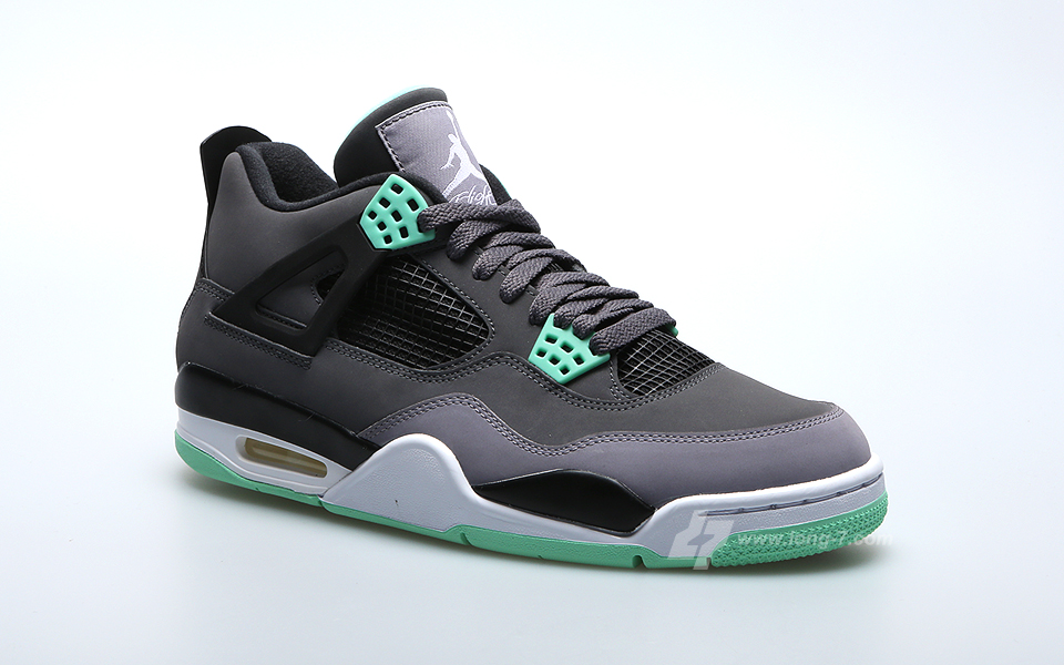 jordan 4 retro. air jordan 4 retro - green glow