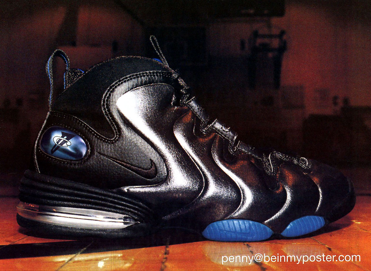 50944eabe9a7 Vintage Ad  Nike Air Penny III