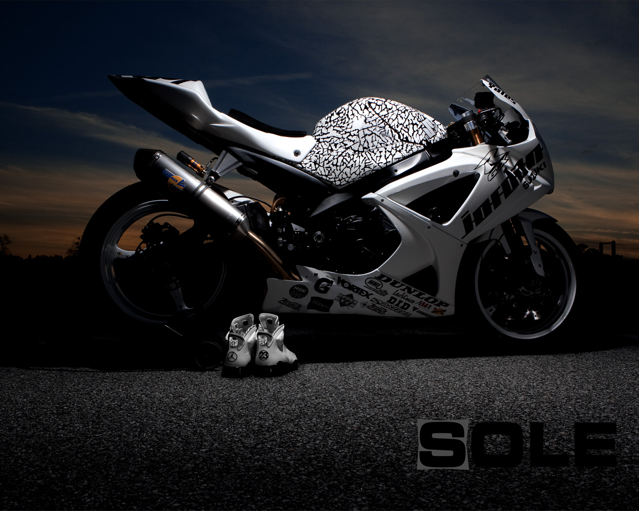 sole collector wallpaper of the day jordan motorsports x