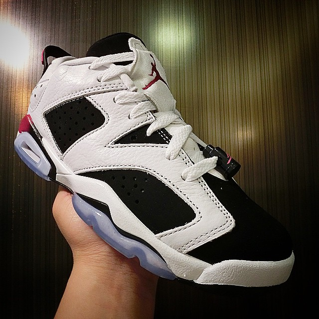 Air Jordan VI 6 Low Sport Fuchsia (2)