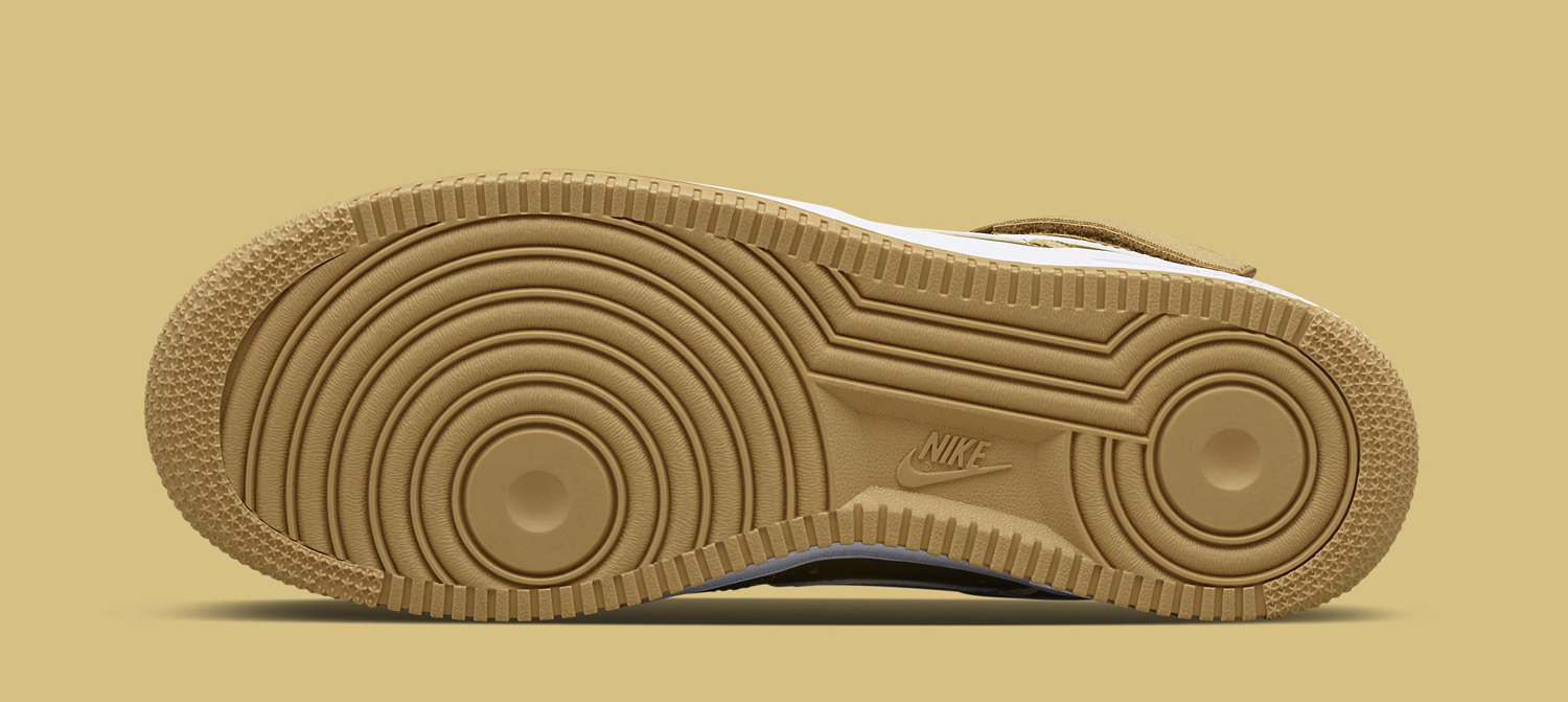 new concept bf900 856b9 Nike Goes for the Gold on Air Force 1 Retro | Sole Collector