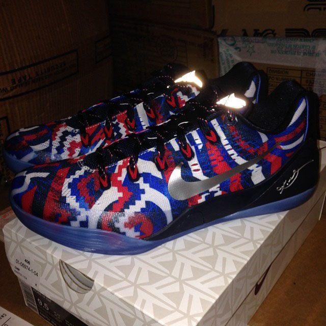 Nike Kobe IX 9 EM Independence Day 646701-104 Release Date